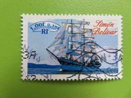 """Timbre France YT 3269 - Armada Du Siècle - Rouen 1999 - Grands Voiliers - """"Simon Bolivar"""" - 1999 - Usados"""