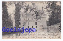LES TROIS MOUTIERS Chateau De La Motte Chandenier ( Voyagé ) - Les Trois Moutiers