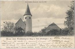 CPA Gruss Aus Kirsshberg Bei Berg U. Thal Alsace Allemande Historisches Denkmal Renovirt - Drulingen
