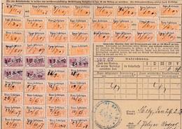 T.F Carte Sociaux-Postaux Alsace-Lorraine - Steuermarken
