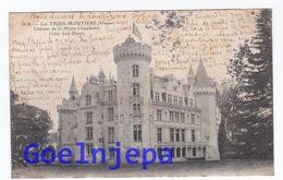 LES TROIS MOUTIERS Chateau De La Motte Chandenier Coté Sud Ouest ( Voyagé ) - Les Trois Moutiers