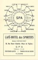 Spa NA148: Café-Hôtel Des Sportifs, Rue Henri Schaltin... - Spa