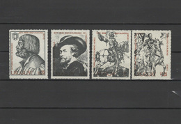 Uruguay 1978 Paintings Albrecht Dürer - Durer, Rubens, Goya Set Of 4 MNH - Künste