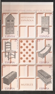 Espagne España 1991 N° 2736 / 41 ** Artisanat, Meubles, Armoire, Pharmacie, Vaisselier, Chaise, Lit, Landau, Coffre Bois - 1991-00 Nuevos & Fijasellos