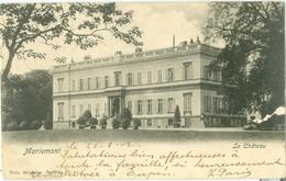 Mariemont 1902; Le Château - Voyagé. (Nels - Bruxelles) - Morlanwelz