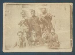 39 CHAMPAGNOLE Jazz Band De L'E.S.P. Petite Photo Originale 4.5 X 6.5 Cm - Photos