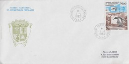 Enveloppe   FDC   1er  Jour   T.A.A.F    Programme  ECOPHY   1993 - FDC