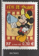 FRANCE ANNEE 2004 N° 3641   OBLITERE - Usati