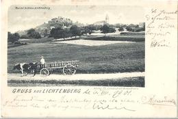 CPA Gruss Aus Lichtenberg Alsace Allemande - Molsheim