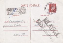 ENTIER - 1 F. 20 Pétain Pour Le Soudan Avec Surtaxe De 3 F. 50 RARE - Entiers Postaux