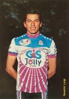 Postcard Luigo SEVERINI - Gis-Jolly-Scarpe - 1987 - Ciclismo