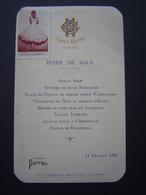 MENU Ancien : DINER DE GALA 11 Février 1929 / Vignette MAGLIANI / GOLF HOTEL / HYERES ( VAR ) - France