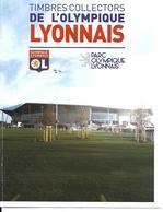 COLLECTOR TIMBRES STADE FOOTBALL OLYMPIQUE LYONNAIS GROUPAMA STADIUM STADION STADIO ESTADIO - Clubs Mythiques