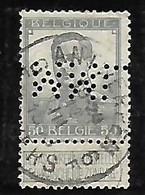 Perfin Perfo MML - 1909-34