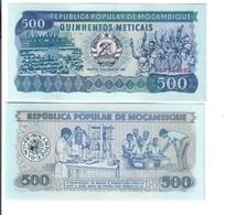 MOZAMBIQUE MOZAMBICO 1983 500 Meticais  FDS Unc Lotto 3202 - Mozambique