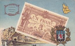 Cpa-86 - Poitiers Billet Banque 1 Franc - Chambre Commerce-monnaie -ville / Region / Departement- Fantaisie- - Poitiers