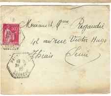 FRANCE 1935:  LSC Avec Y&T 283 Et Obl. CAD Octogonal En Pointillés De Pandrignes (Corrèze) - France