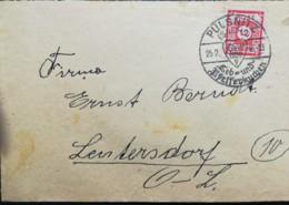 SBZ Brief Von Pulsnitz Nach Leutersdorf Mi.Nr.: 60a Gest. Used Mi€.: 6,00 - Zone Soviétique