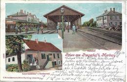 1910 - PRAGERSKO  Okres Slovenska Bistrica, Gute Zustand, 2 Scan - Slovenië