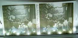 PARIS ECOLE VICQ-D'AZIR KERMESSE 75010 ? ENSEIGNEMENT LYCEE FETE PLAQUE DE VERRE PHOTOGRAPHIE STEREOSCOPIQUE - Formación, Escuelas Y Universidades
