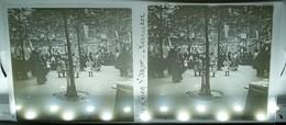 PARIS ECOLE VICQ-D'AZIR KERMESSE 75010 ? ENSEIGNEMENT LYCEE FETE PLAQUE DE VERRE PHOTOGRAPHIE STEREOSCOPIQUE - Distrito: 10