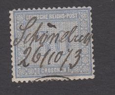 Norddeutscher Bund / Postbezirk - Freimarke Für Innendienst Nr. 26 Federzug + - Norddeutscher Postbezirk