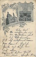 1899 - Olomouc  SYNAGOGE, Gute Zustand, 2 Scan - Tchéquie