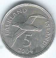 Falkland Islands - 2004 - Elizabeth II - 5 Pence - KM132 - Falkland