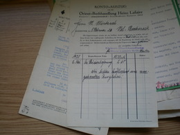 Konto Auszug Orient Buchhandlung Heinz Lafaire 1926 - Non Classés