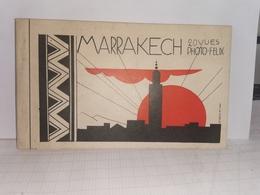 Maroc * Marrakech , Carnet  20 Cartes - Lieux