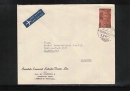 Portugal 1963 Interesting Airmail Letter - 1910-... République