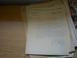 Leipzig Rechnungs Auszug K F Koehlers Antiquarium 1931 - Non Classés