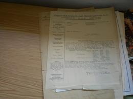 Konto Auszug Orient Buchhandlung Heinz Lafaire 1925 - Non Classés