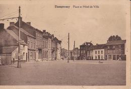 Dampremy. Place Et Hôtel De Ville - Charleroi