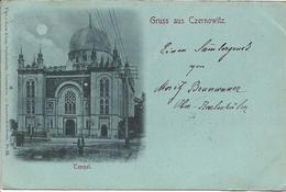 1899 - Czernowitz  SYNAGOGE , Gute Zustand, 3 Scan - Ukraine