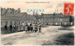 77 Papeteire Du MOULIN-du-PONT - Frankrijk