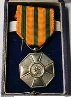 Luxembourg Médaille, L'ordre De Couronne De Chaîne Argent - Royal / Of Nobility