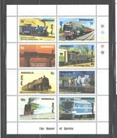 """MONGOLIA  1993  """"TRAINS""""  M.S. #2072a   MNH - Mongolia"""
