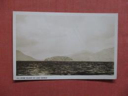 - New York > Lake George  RPPC  Dome Island    Ref 4026 - Lake George
