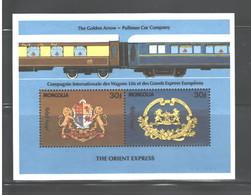"""MONGOLIA  1992  """"TRAINS""""  M.S. #2076   MNH - Mongolia"""