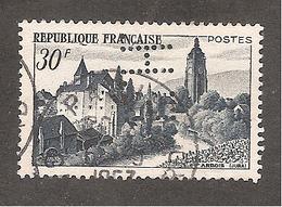 Perforé/perfin/lochung France No 905 E.H. E. Hermann Theissen Et Cie - Gezähnt (Perforiert/Gezähnt)