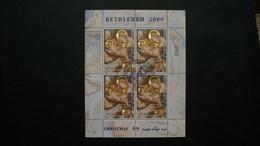 NAVIDAD-PALESTINA-2000--BLOQUE EN USADO/º/ - Collezioni (senza Album)