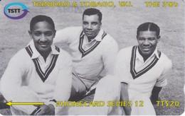 118CTTC TARJETA DE TRINIDAD Y TOBAGO DE THE 3 Ws - Trinité & Tobago