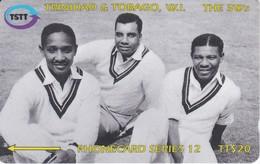 144CTTB TARJETA DE TRINIDAD Y TOBAGO DE THE 3 Ws - Trinité & Tobago