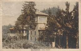 GOLASECCA-VARESE-VILLA VAIANI-CARTOLINA VIAGGIATA IL 4-9-1930-SCANSIONE FRONTE RETRO - Varese