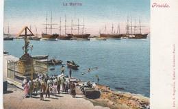 PROCIDA-NAPOLI-LA MARINA-CARTOLINA NON VIAGGIATA -ANNO 1900-1904 - Napoli (Naples)