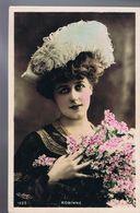 Artiste 1900 - Gabrielle Robinne - Colorisée - Cliché Reutlinger -Sip 1625 - Teatro