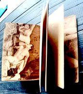 """PORNOGRAPHIE EROTISME LIVRET DE 32 HELIOGRAVURES  """"BRULANTES """" VENDU CLANDESTINEMENT VERS 1930 POSITIONS TRES LIBRES - Autres"""