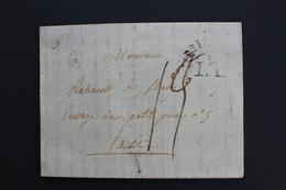 1804 LAC MILAN POUR PARIS TAXE MANUSCRITE 19 DECIMES CAD REPUBLICAIN 11 VENDEMIAIRE AN 13 (3/10/1804) - 1. ...-1850 Vorphilatelie