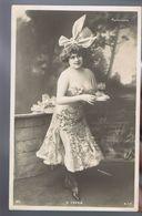 Artiste 1900 - M. Yvren -  Parisiana - Décolleté  , Cliché Manuel , Sip 871 - Teatro